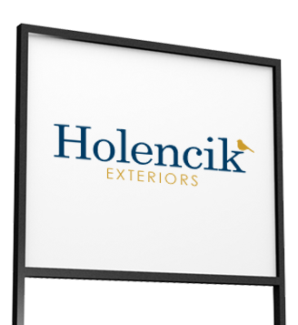 Holencik Exteriors Sign